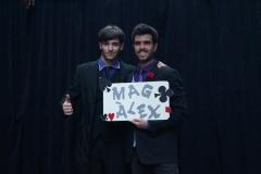 El mago y el ayudante